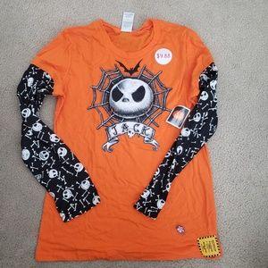 Nwt disney Jack Skelligton shirt Juniors XL